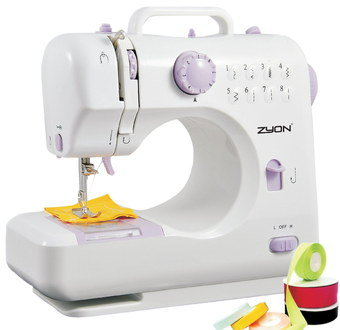 Dual Thread Cheap Sewing Machine With Handle On Top
