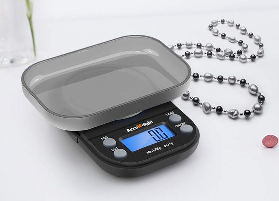 Pro Digital Kitchen Scale With Blue LCD