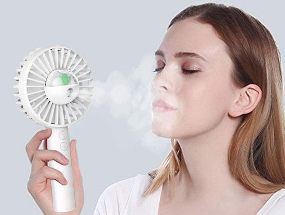 Spray Fan Misting Humidifier With Handle