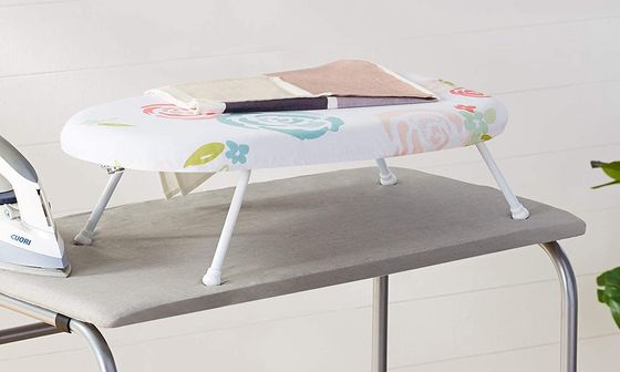 Tabletop Folding Ironing Board With Small Legs