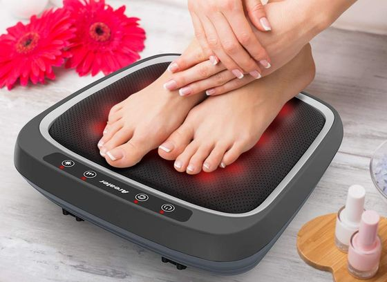 Massager Warmer For Elderly With Black Red Surface