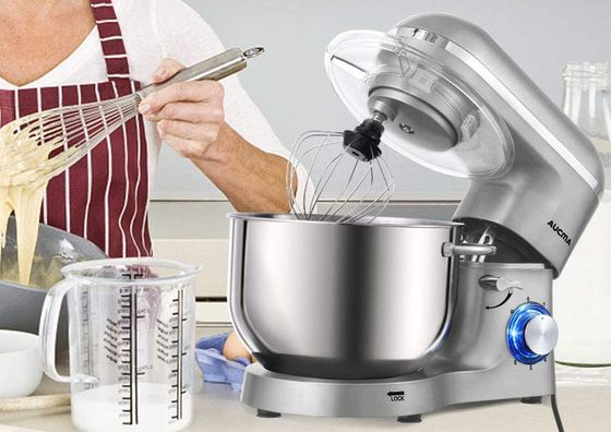 Pulse Featured Dough Mixer For Home In Black