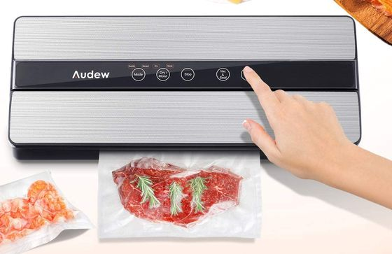 Vacuum Sealer Machine For Food In White With Cheese Board