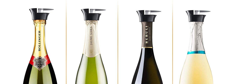 Red Wine Professional Champagne Sparkling Wine Bottle Stopper Sealer Fizz Keeper