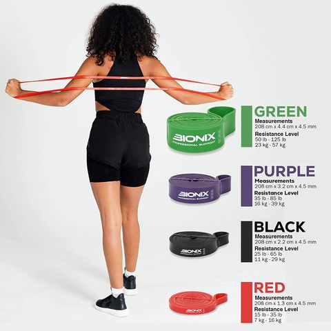 Pull Up Thick Heavy Resistance Bands 4 Pack