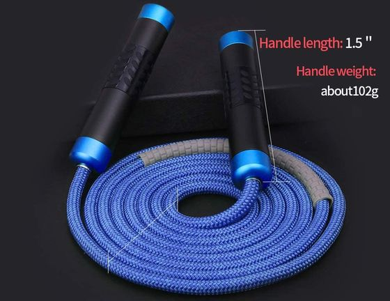 Blue Weighted Jump Rope 9.24 mm