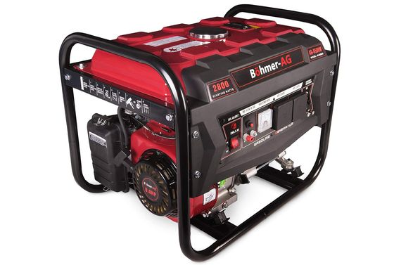 Quiet Portable Generator With Black Frame