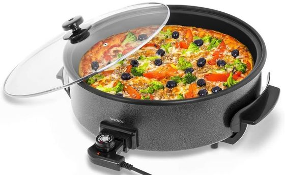 Electric Stir Fry Wok With Clear Cover