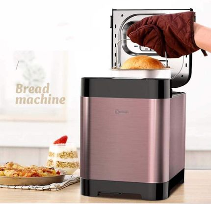 Bread Baking Machine With Lid On Top
