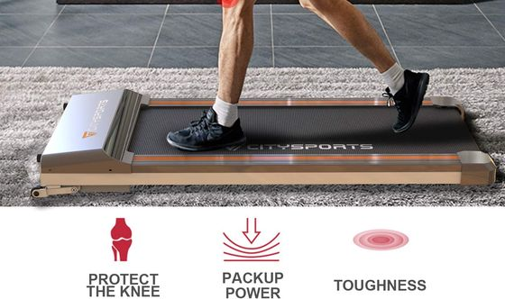 Folding Electric Treadmill On Carpet