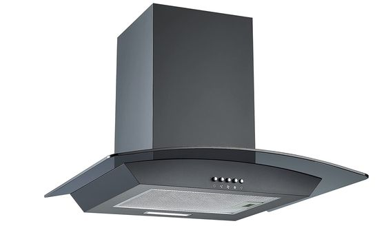 Extractor Hood With Chic Curved Glass
