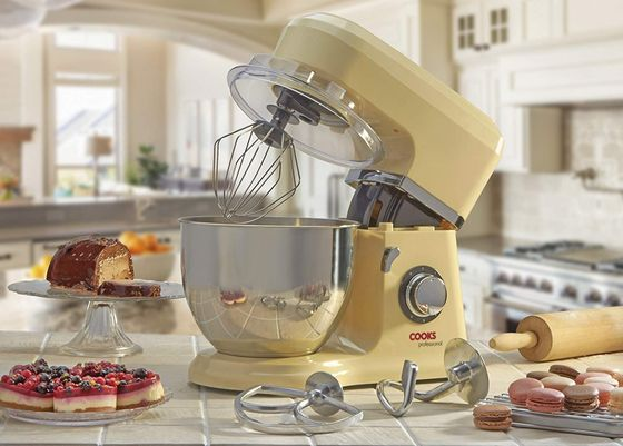 Cake Mixer Machine With Steel Bowl
