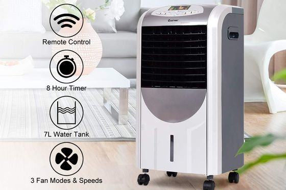 Portable Air Conditioner With Black Grille