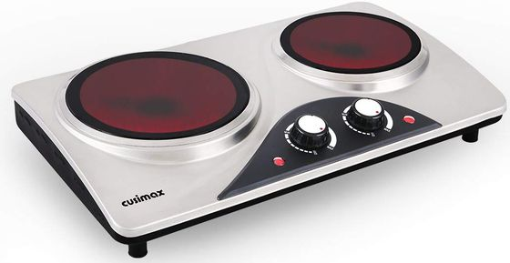 Hot Plate With Polished Steel Exterior