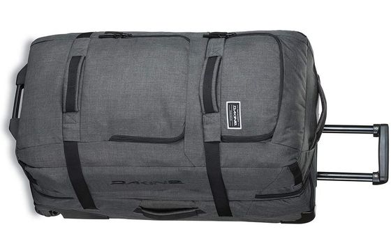 Sports Duffle Bag In Grey Exterior Textile
