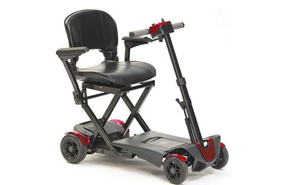 Portable Mobility Scooter With Cushioned Seat