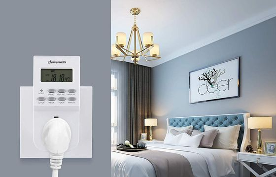 Timer Switch For Lights With LCD Screen
