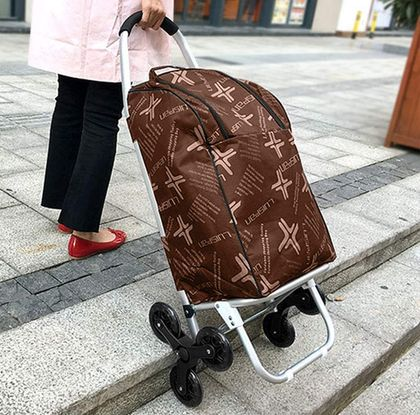 Granny Trolley 6 Wheels Click On/Off