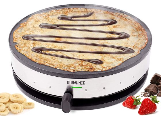 Electric Crepe Maker With Front Settings