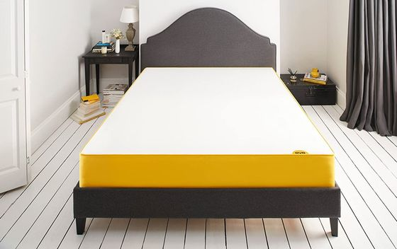 Medium Firm Memory Foam Mattress With Orange Border