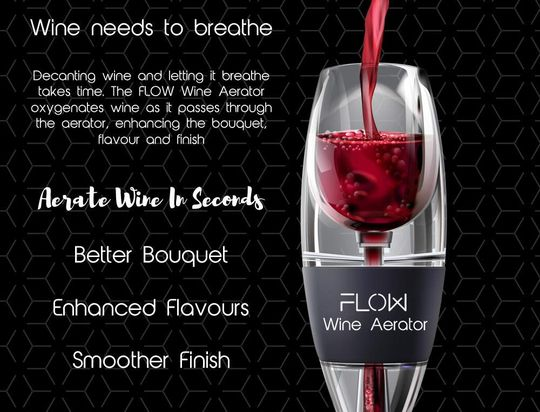 St.Oswalds Wine Aerator Decanter for Oxygenating and Decanting Red Wine and White Wine