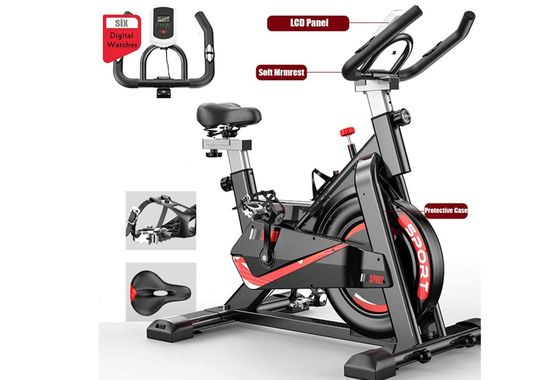 Spinning Exercise Bike With LCD Screen