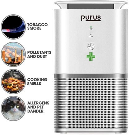 Air Purifier With Remote Device