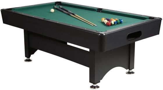 Home Pool Table With Black Exterior