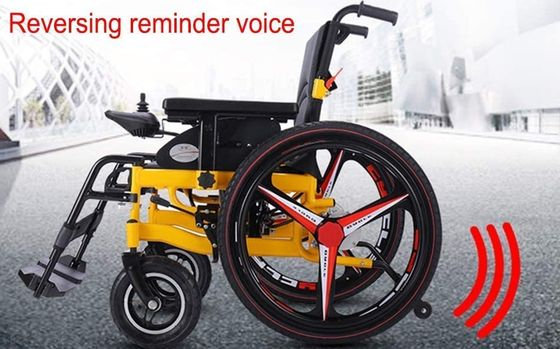 Motorised Wheelchair With Joy Stick