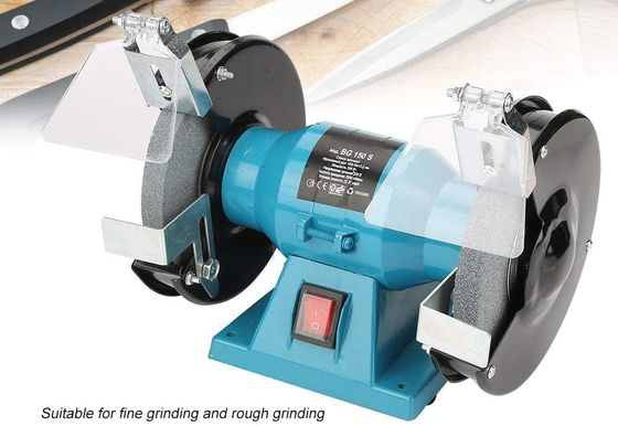 Metal Polishing Machine Grinder With Eye Guards