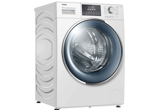 8Kg Compact Washing Machine White Exterior
