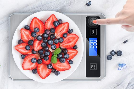 Food Measuring Scale With Steel Surface