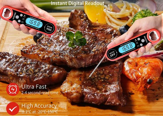 Food Temperature Probe In Red And Black