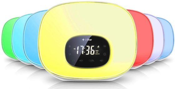 Daylight Alarm Light Radio With Black LED