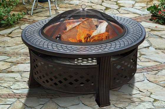 Metal Fire Pit With 3 Legs