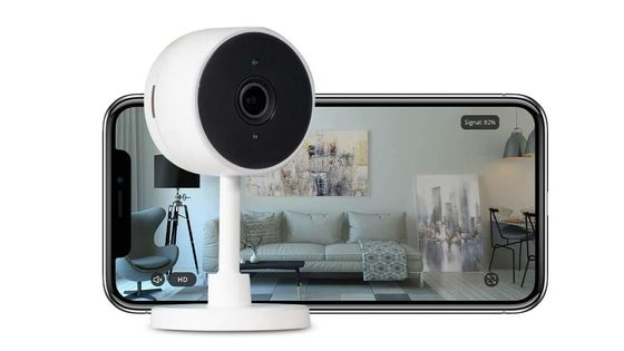 Indoor Security Camera With Smartphone