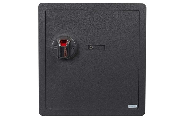 Security Safe Box In Solid Black Steel