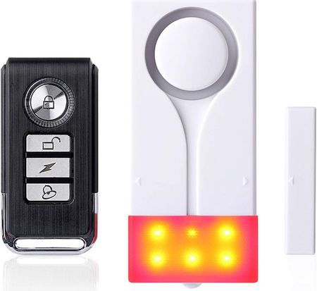 Wireless Shed Alarm With Red LED Light