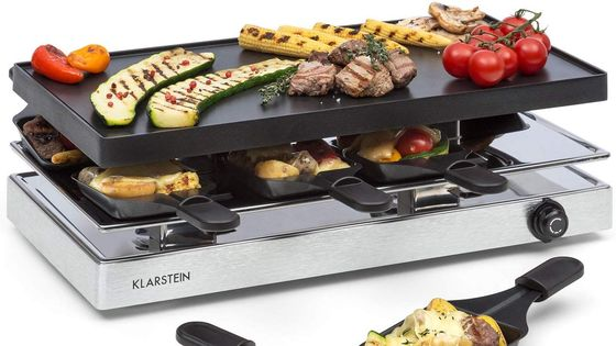 Countertop Grill In Polished Steel