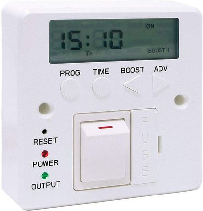 Electric Timer Switch With Red Power Light