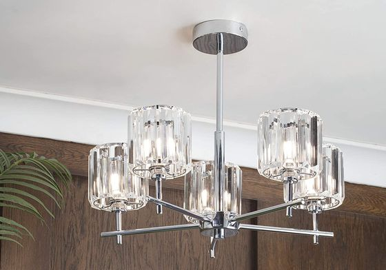 Steel Skydda Flush Ceiling Lighting