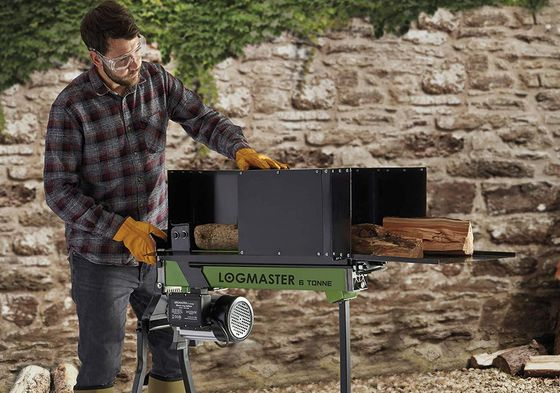 Log Splitter In Black And Orange Colour