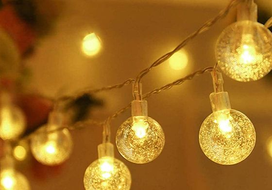 Globe Fairy String Lights In Yellow