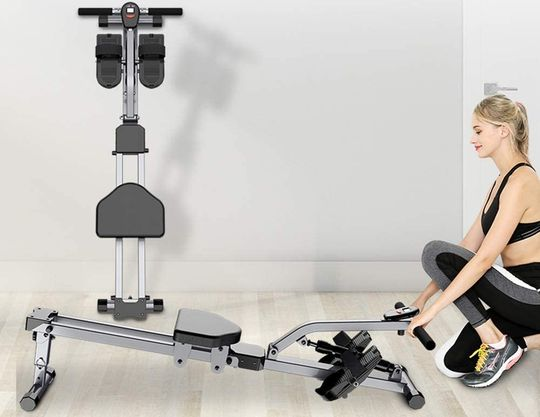 Mini Rowing Machine With Foot Straps