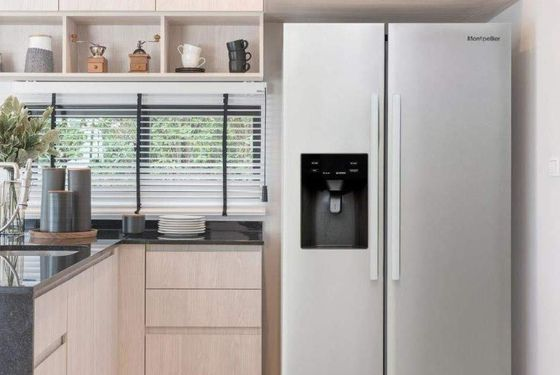 2 Door Fridge Freezer With Polished Exterior