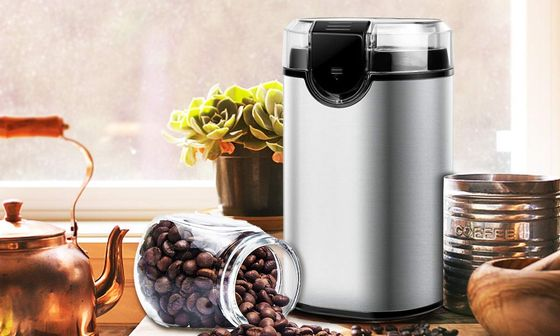 Electric Spice Grinder With Sharp Steel Blades