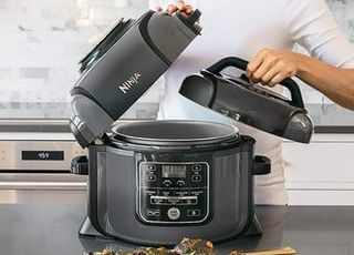 Mini Cooker In Grey