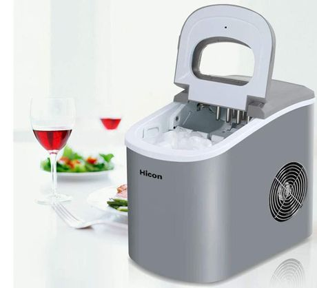 Portable Home Ice Machine With Polished Finish