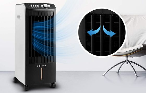Fan That Blows Cold Air In Black