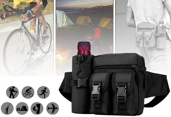 Waterproof Bum Bag With Bottle Pouch